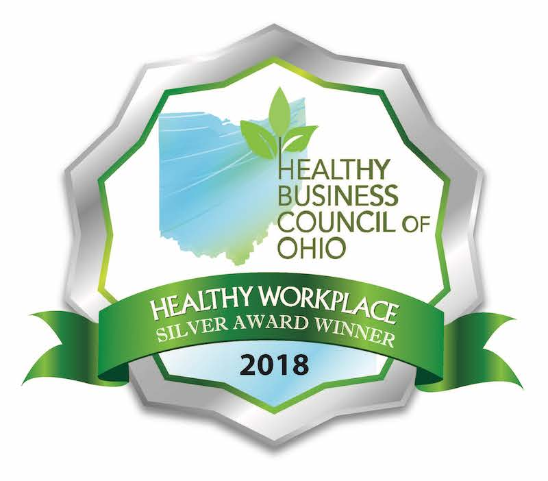 Healthy Ohio - Healthy Workplace - Silver Winner 2018