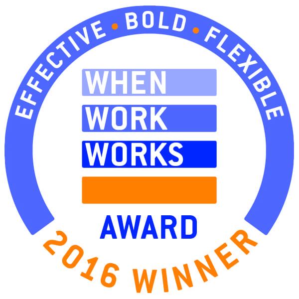 2016 When Work Works Logo