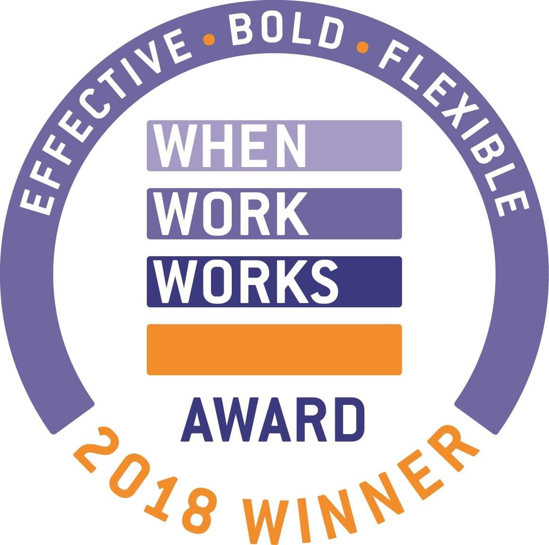 2018 When Work Works Logo