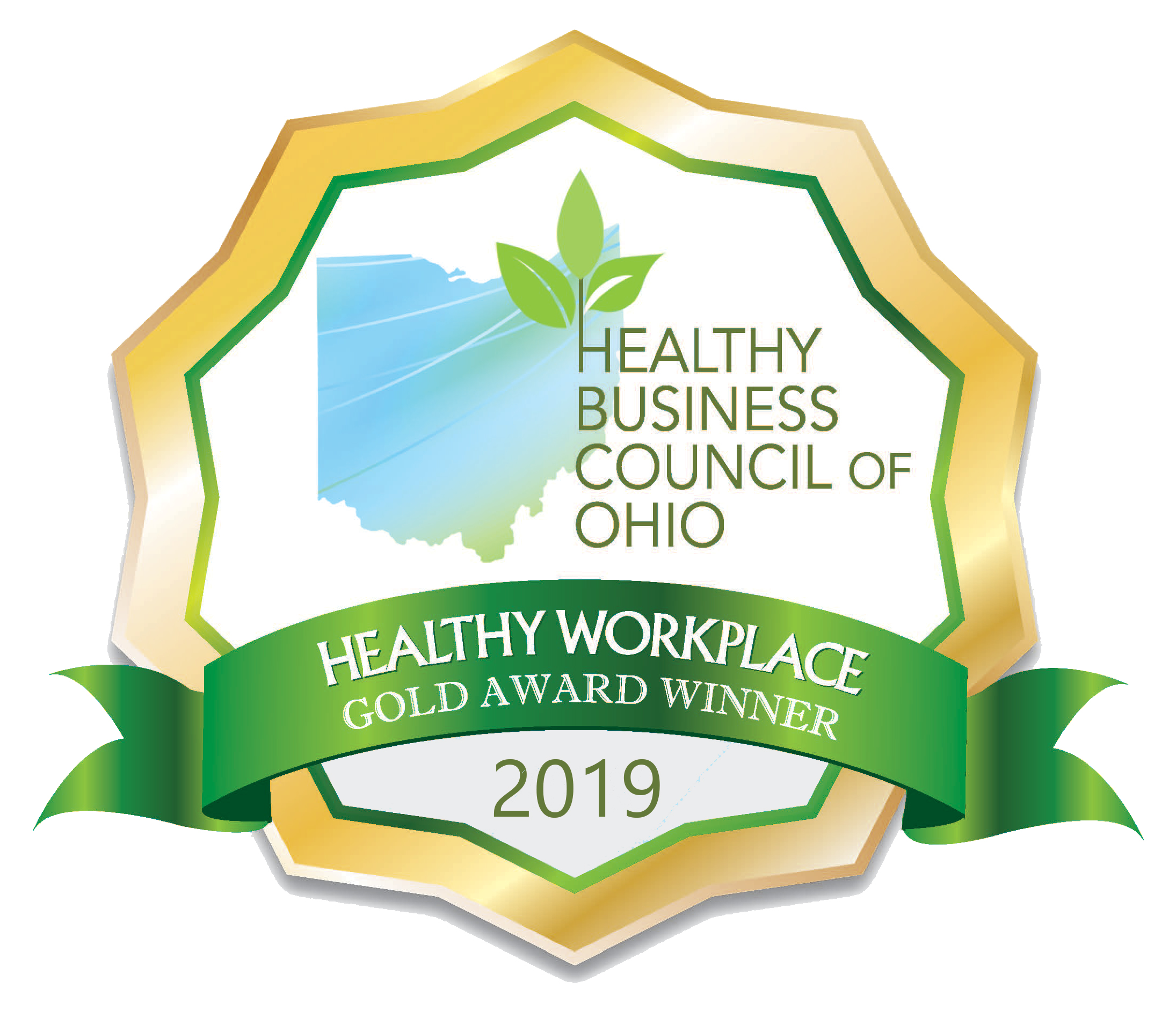 Healthy Workplace Gold Award Winner